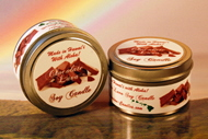 Chocolate Lava Soy Candle