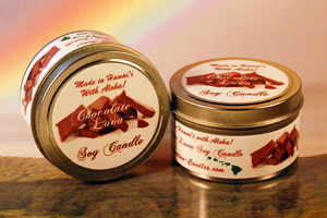 Hawaiian Chocolate Lava Soy Candle