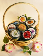 Hawaiian Candle Gift Baskets