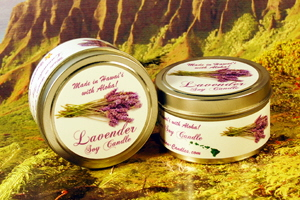 Lavender Soy Candle from Hawaii